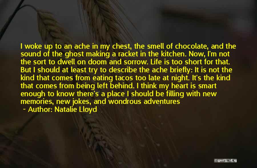 Short Ghost Quotes By Natalie Lloyd