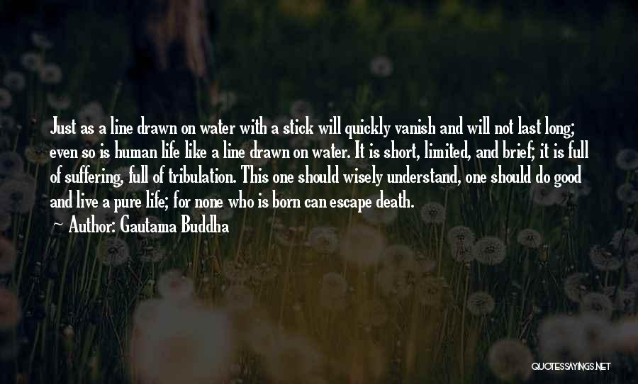Short Life And Death Quotes By Gautama Buddha