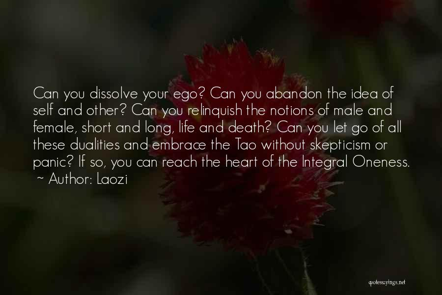 Short Life And Death Quotes By Laozi