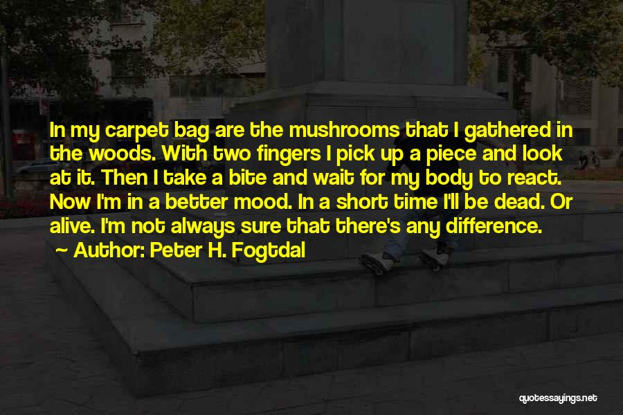 Short Life And Death Quotes By Peter H. Fogtdal