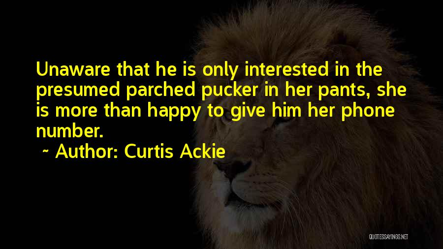 Short Pants Quotes By Curtis Ackie