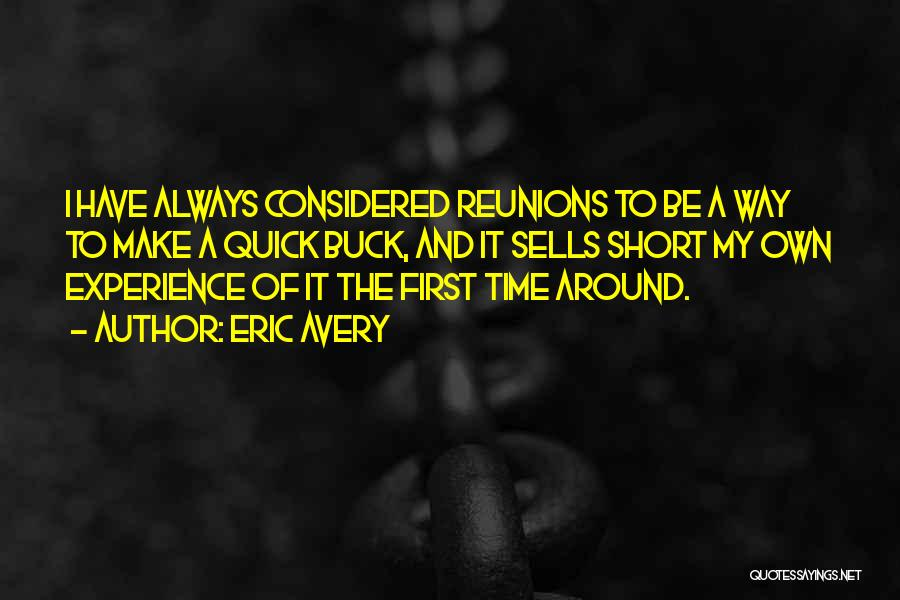 Short Quick Quotes By Eric Avery
