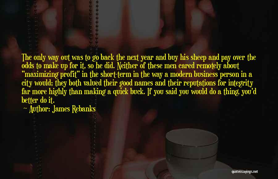 Short Quick Quotes By James Rebanks