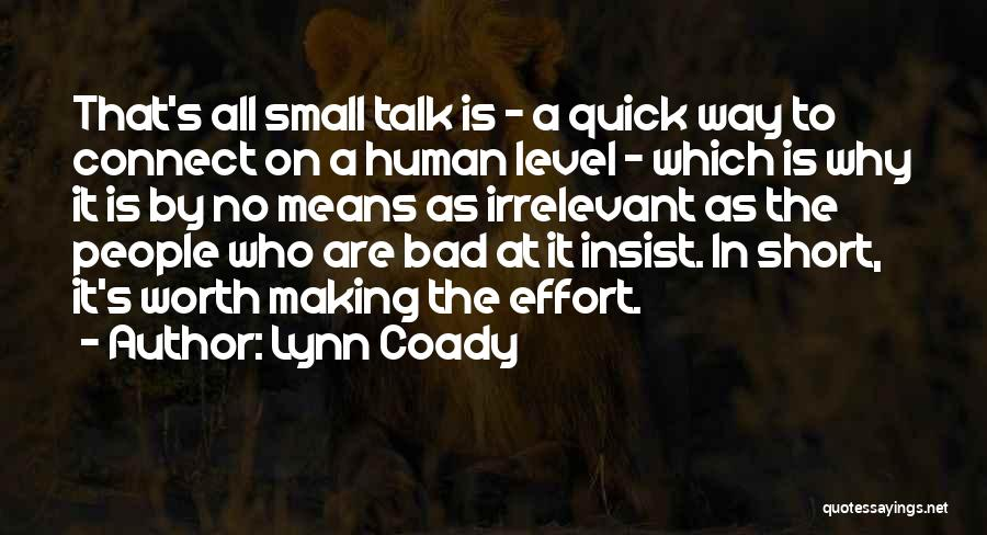 Short Quick Quotes By Lynn Coady