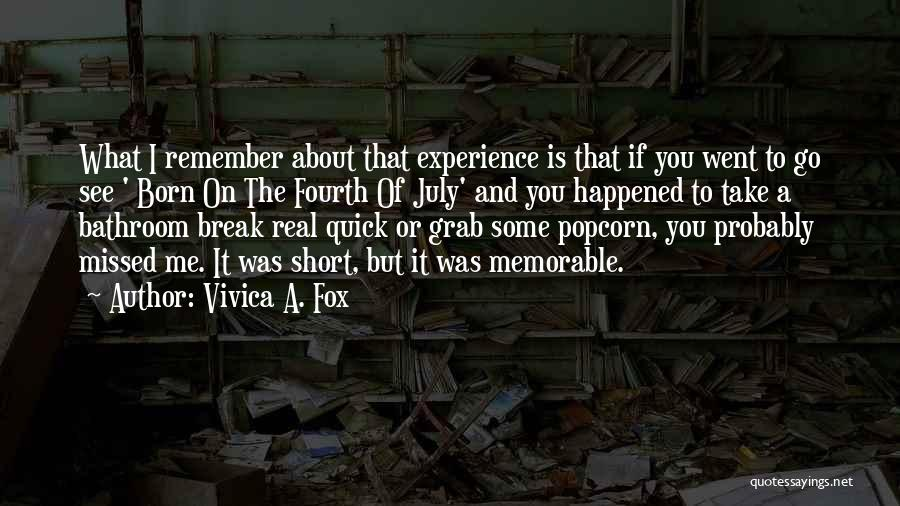 Short Quick Quotes By Vivica A. Fox
