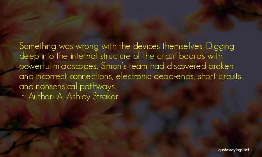 Short Team Quotes By A. Ashley Straker