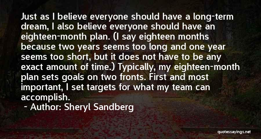 Short Team Quotes By Sheryl Sandberg