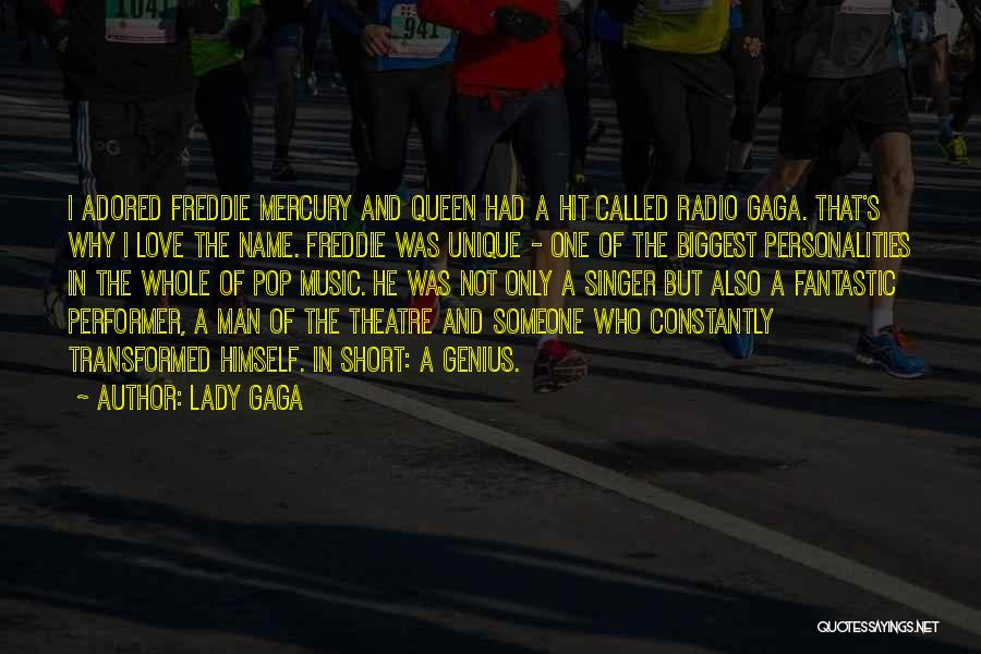 Short Theatre Quotes By Lady Gaga