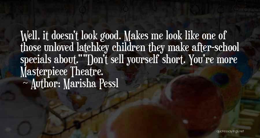 Short Theatre Quotes By Marisha Pessl