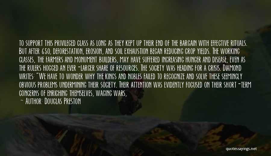 Short Thick Quotes By Douglas Preston