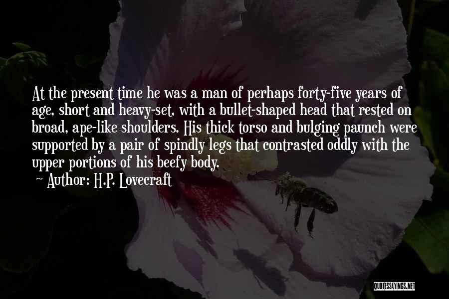 Short Thick Quotes By H.P. Lovecraft