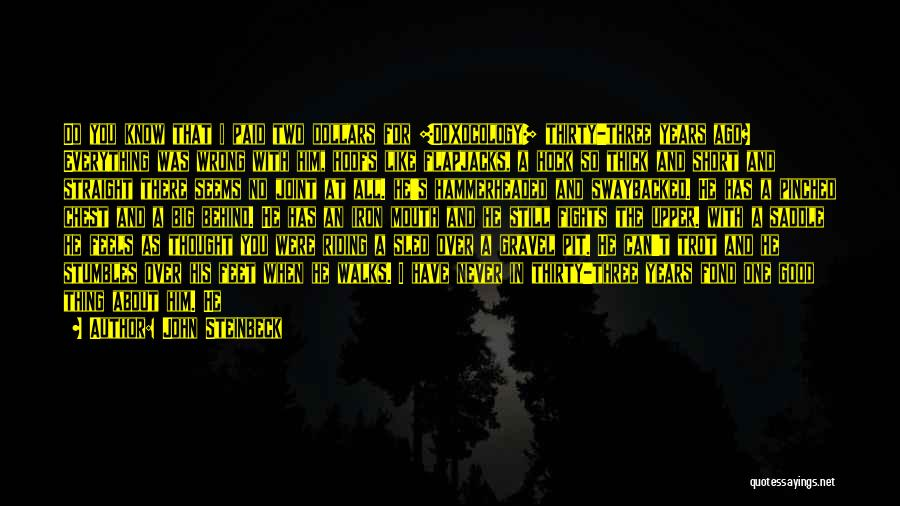 Short Thick Quotes By John Steinbeck