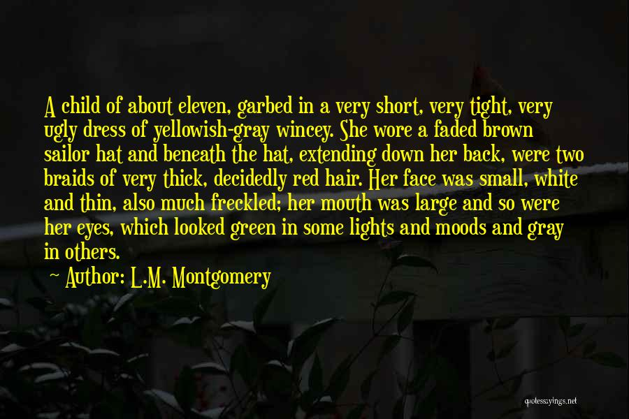 Short Thick Quotes By L.M. Montgomery