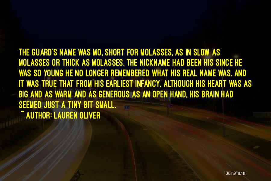 Short Thick Quotes By Lauren Oliver
