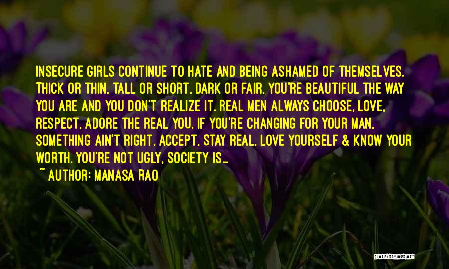 Short Thick Quotes By Manasa Rao