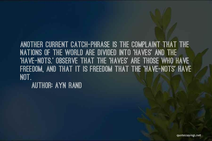 Should Haves Quotes By Ayn Rand