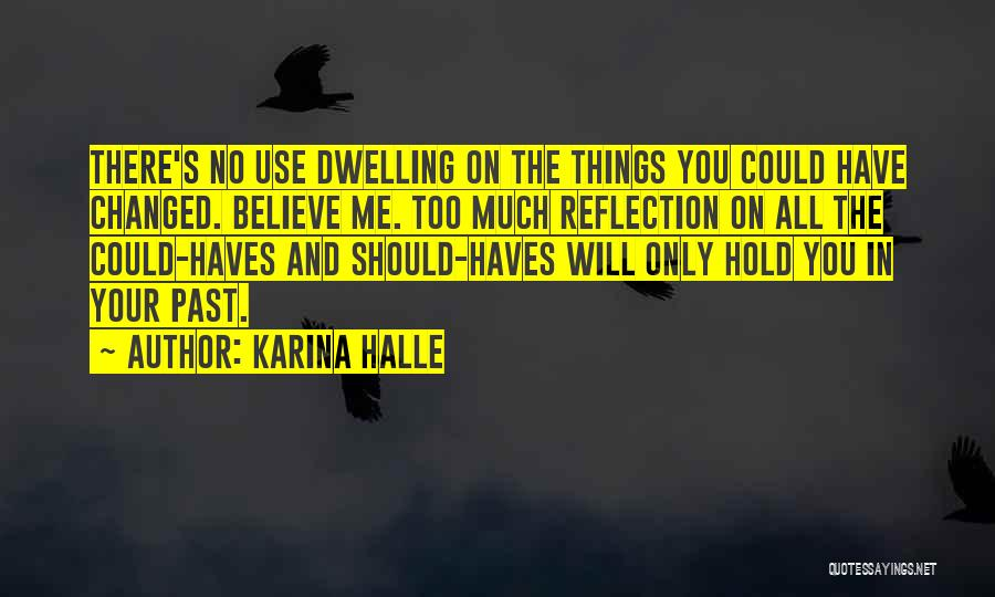 Should Haves Quotes By Karina Halle
