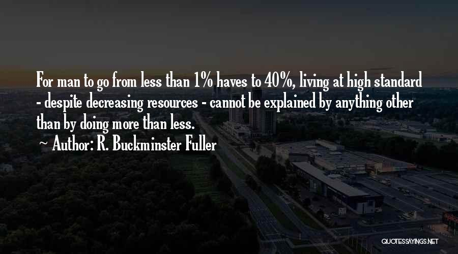 Should Haves Quotes By R. Buckminster Fuller
