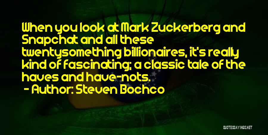 Should Haves Quotes By Steven Bochco