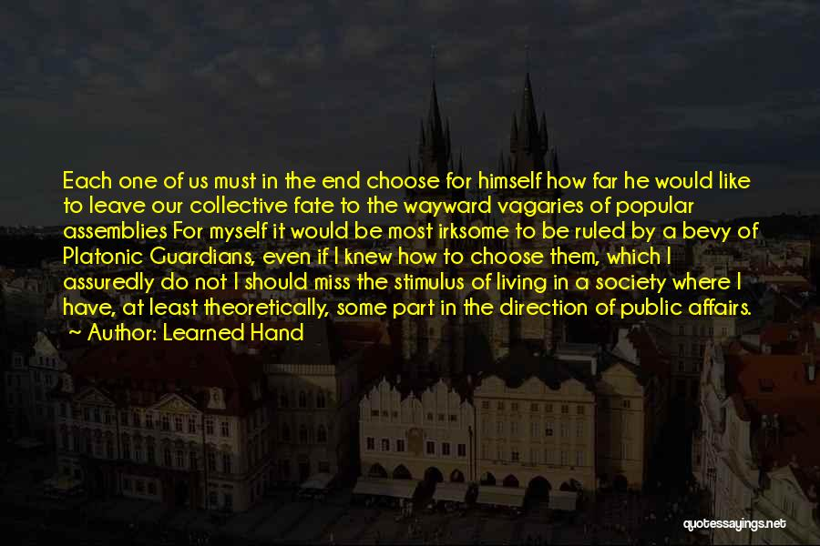 Should I Leave Quotes By Learned Hand