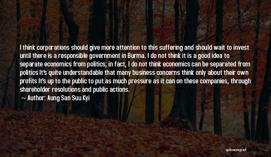 Should Not Give Up Quotes By Aung San Suu Kyi