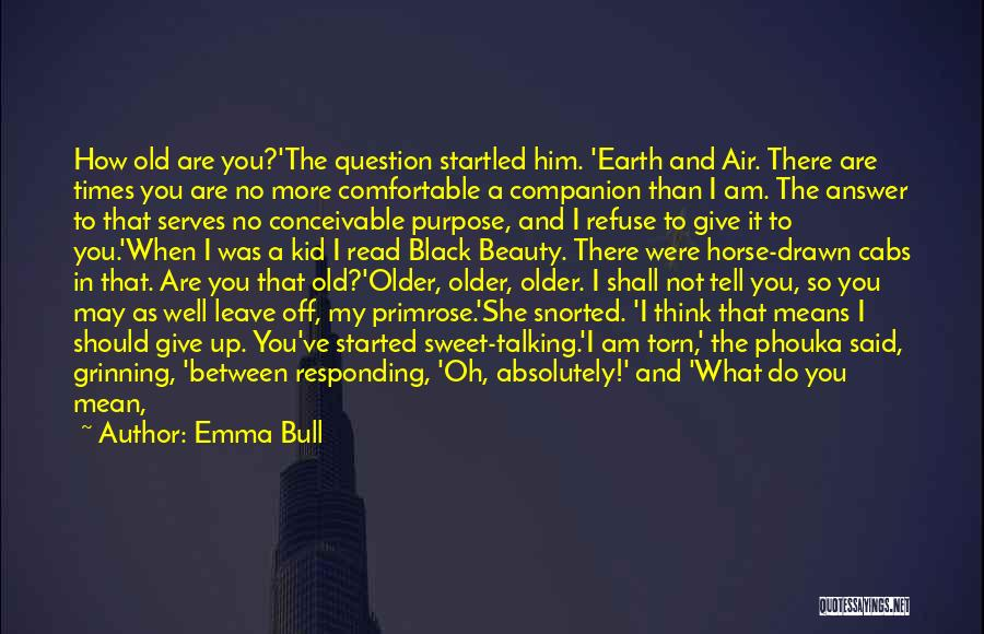 Should Not Give Up Quotes By Emma Bull