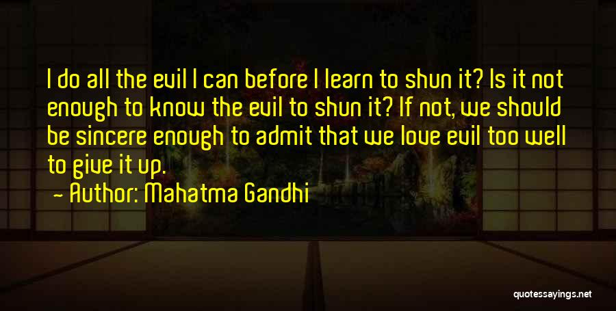 Should Not Give Up Quotes By Mahatma Gandhi