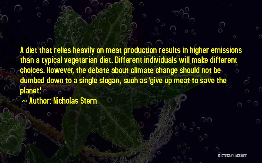 Should Not Give Up Quotes By Nicholas Stern