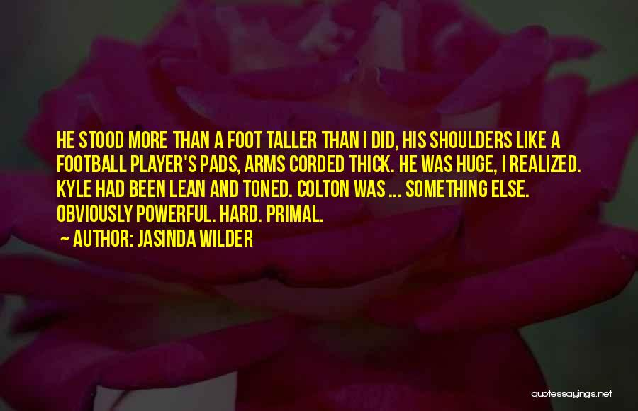 Shoulders To Lean On Quotes By Jasinda Wilder