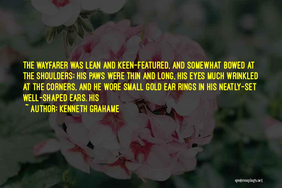 Shoulders To Lean On Quotes By Kenneth Grahame