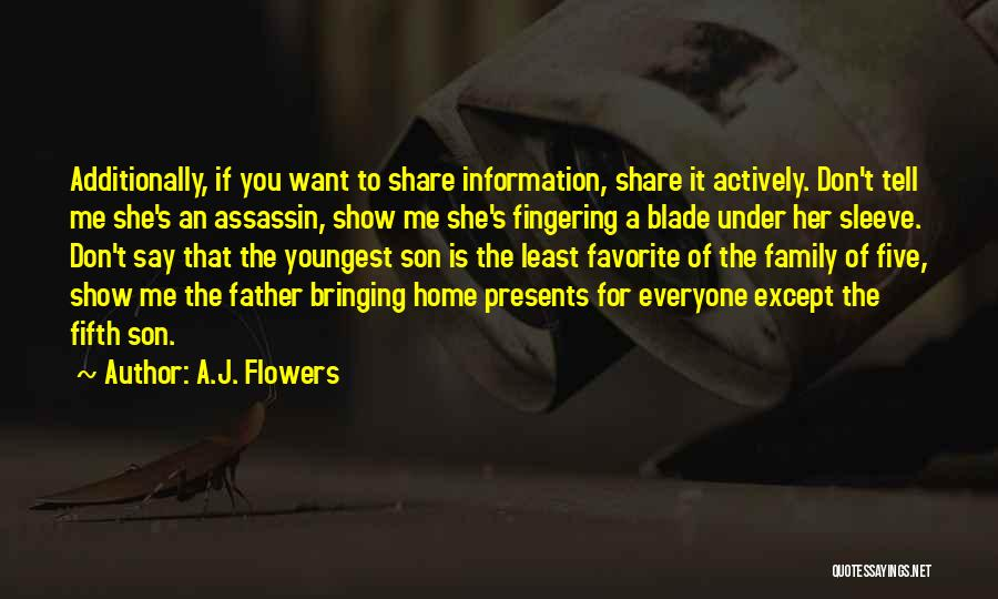 Show Her You Want Her Quotes By A.J. Flowers