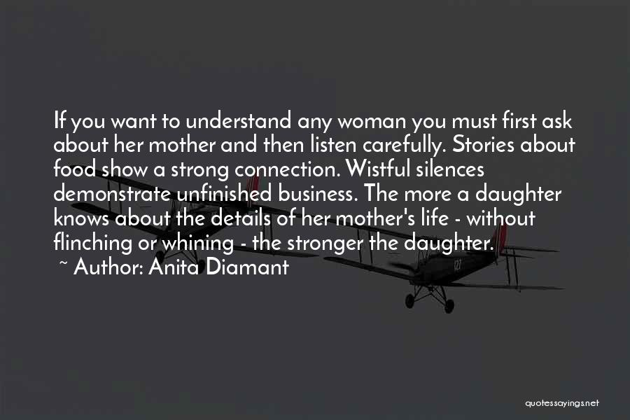 Show Her You Want Her Quotes By Anita Diamant