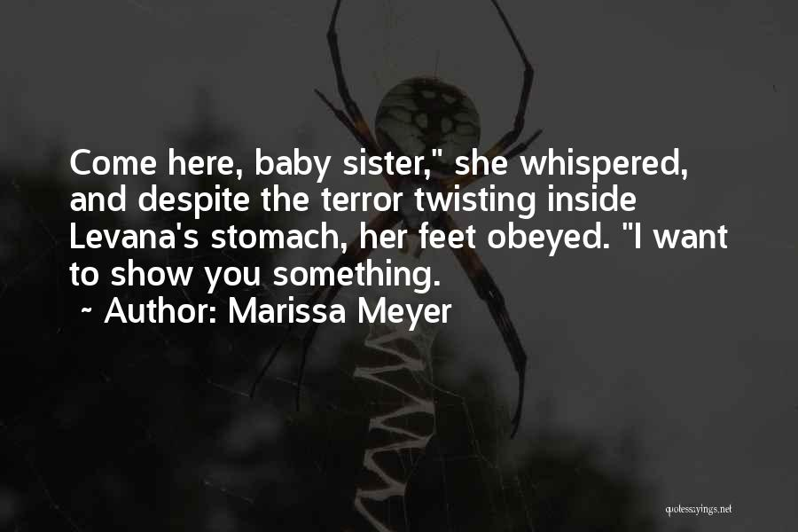 Show Her You Want Her Quotes By Marissa Meyer