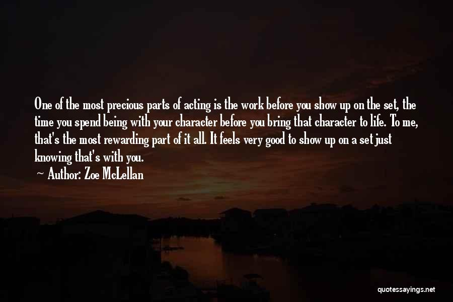 Show Me A Good Time Quotes By Zoe McLellan