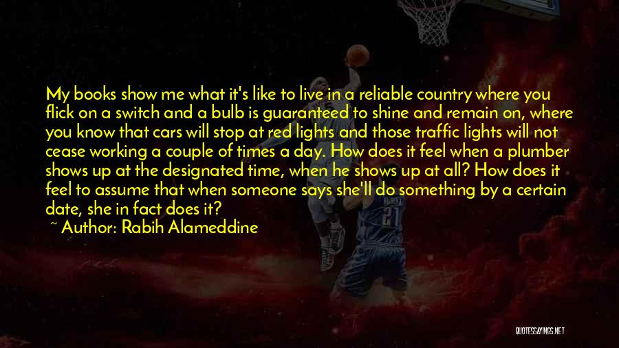 Show Me How You Feel Quotes By Rabih Alameddine