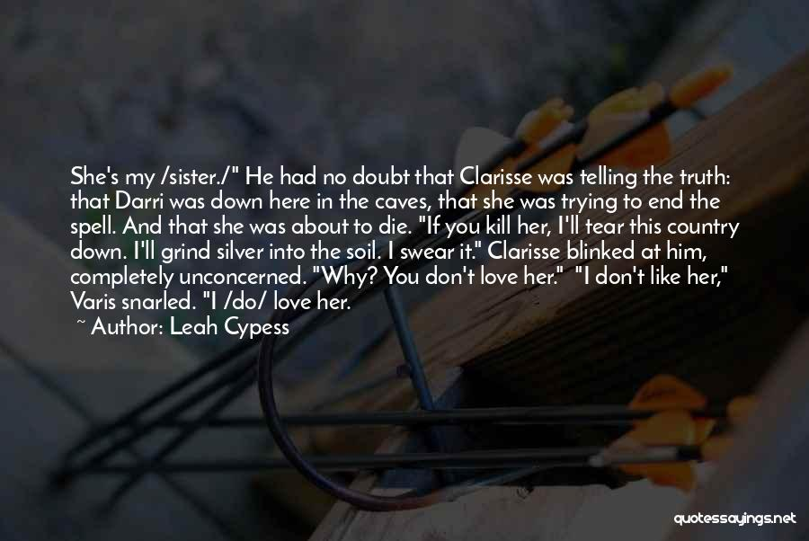 Sibling Love Quotes By Leah Cypess