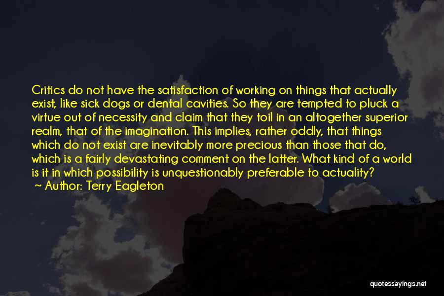 Sick Dogs Quotes By Terry Eagleton
