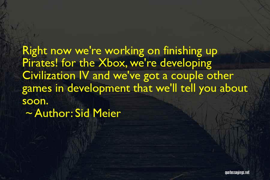 Sid Meier Quotes 1337791