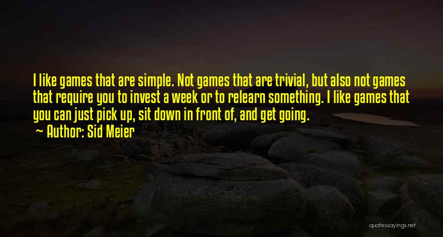 Sid Meier Quotes 2116989