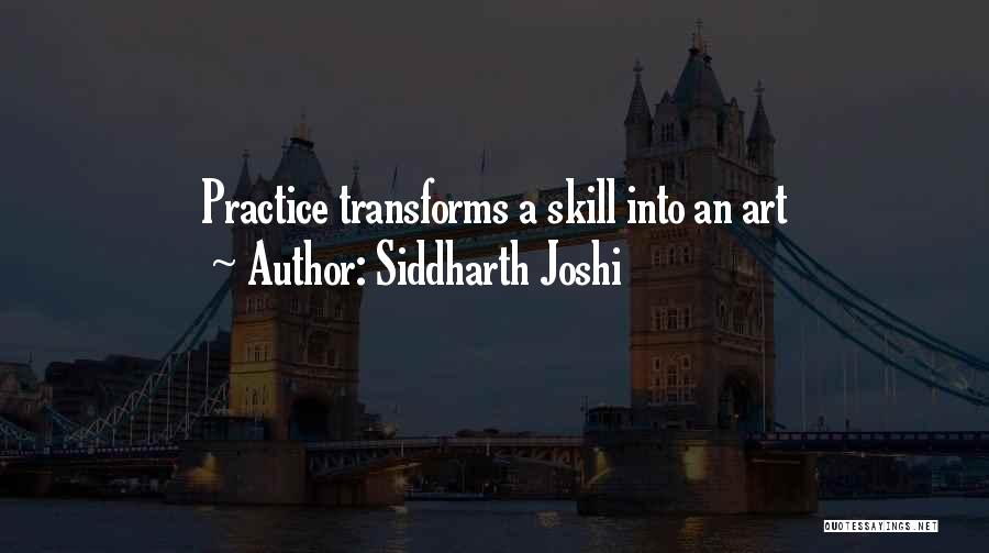 Siddharth Joshi Quotes 488016
