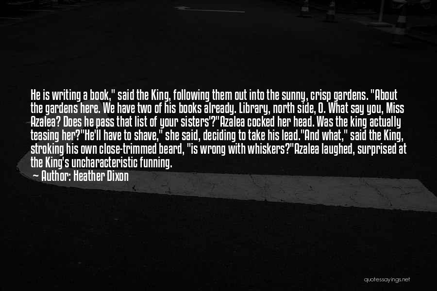 Side Shave Quotes By Heather Dixon