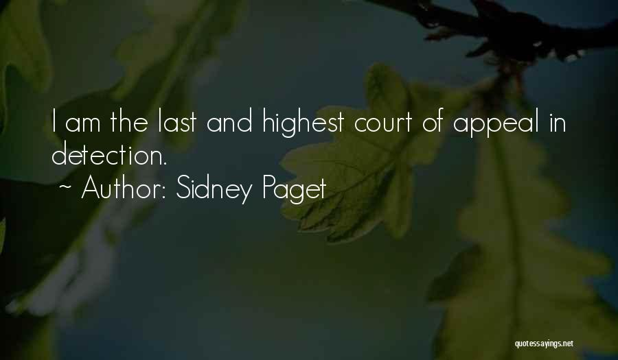 Sidney Paget Quotes 207431