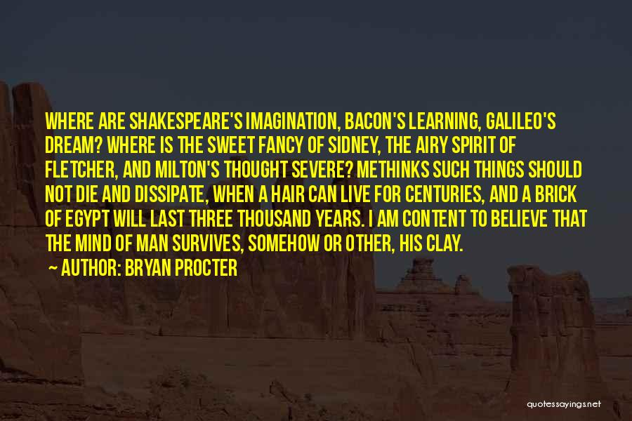 Sidney Quotes By Bryan Procter