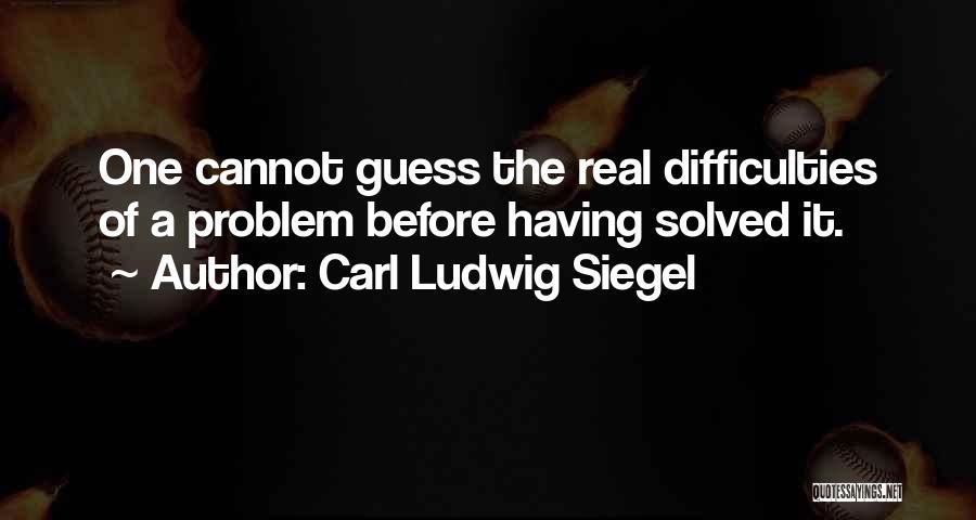 Siegel Quotes By Carl Ludwig Siegel