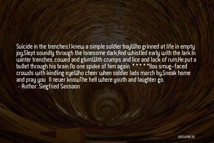 Siegfried Sassoon Quotes 123281