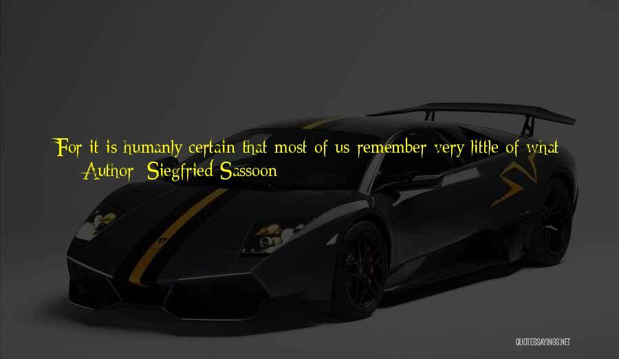 Siegfried Sassoon Quotes 1239520