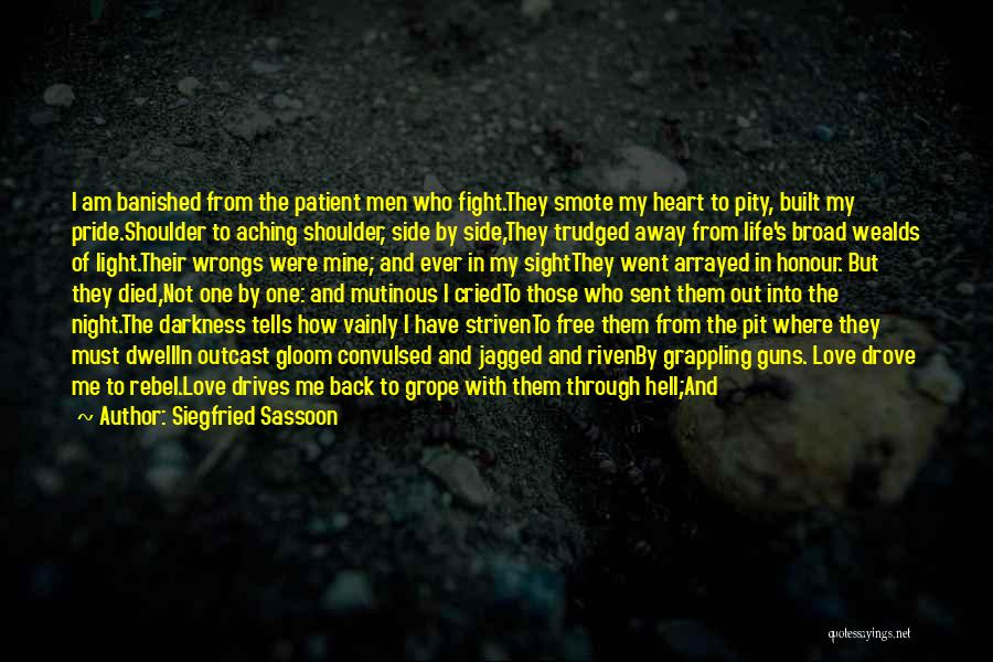 Siegfried Sassoon Quotes 1497812