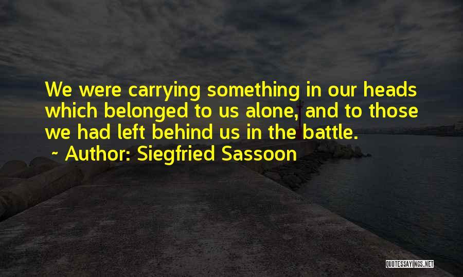 Siegfried Sassoon Quotes 185050