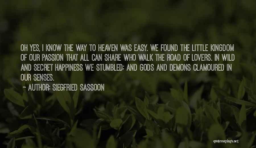 Siegfried Sassoon Quotes 1911343