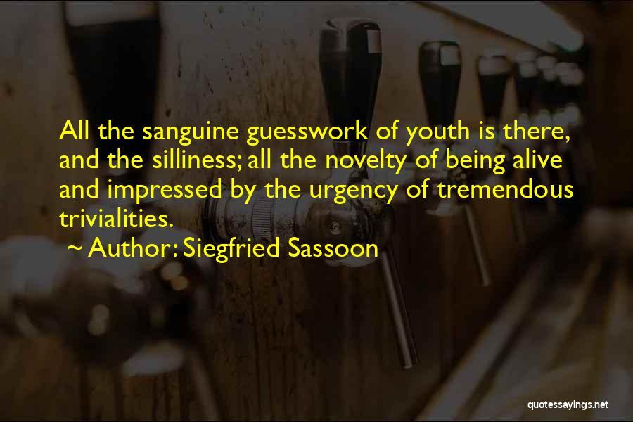 Siegfried Sassoon Quotes 1932594